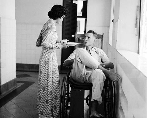 Bệnh viện ở Saigon năm 1953