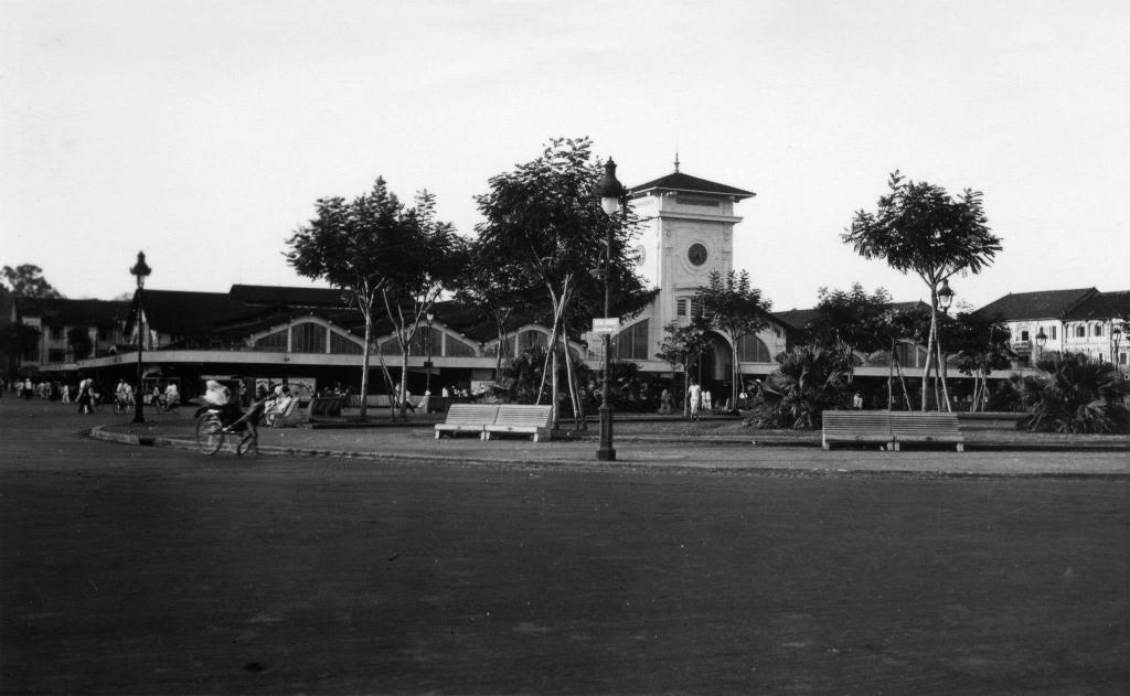 Chợ Bến Thành 1938