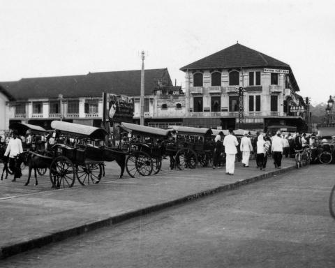 Les calèches à Saigon