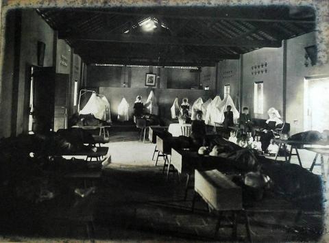 L'intérieur de l'Hôpital de Gia Dinh 1930
