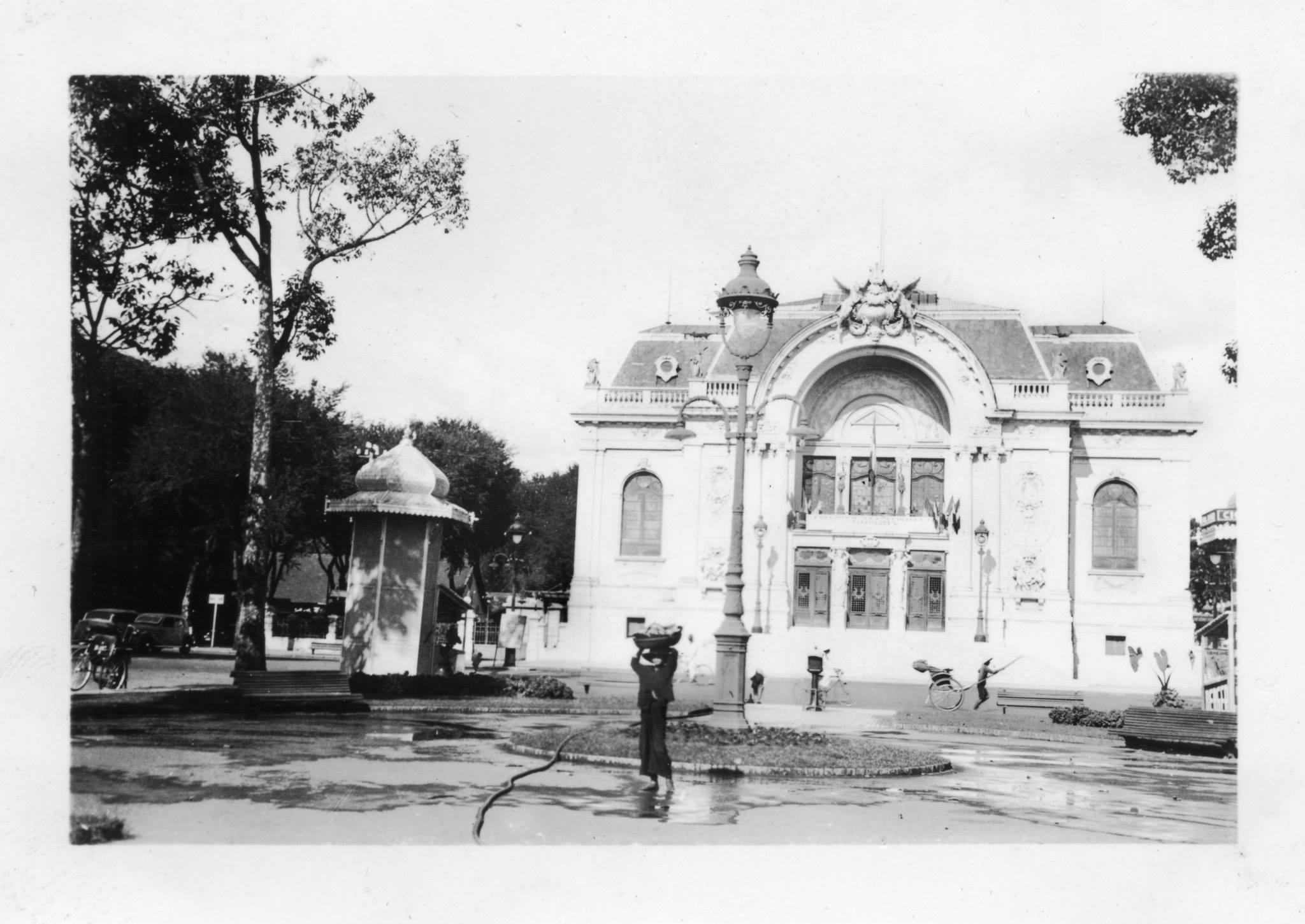 Nhà Hát Lớn Saigon 1938