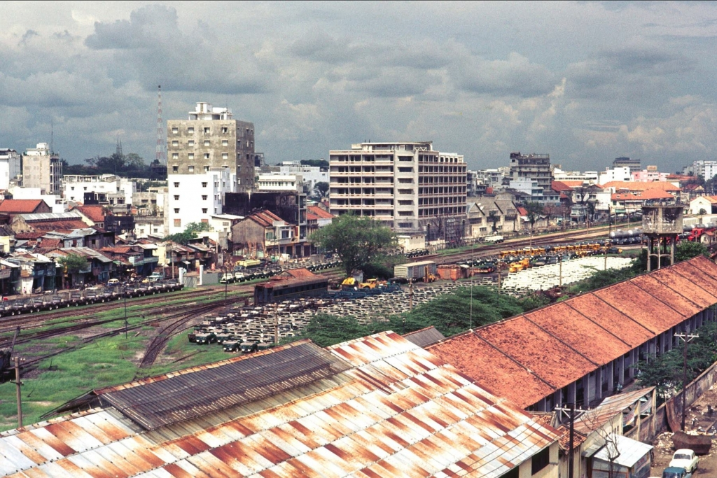 Ga xe lửa Saigon 1968