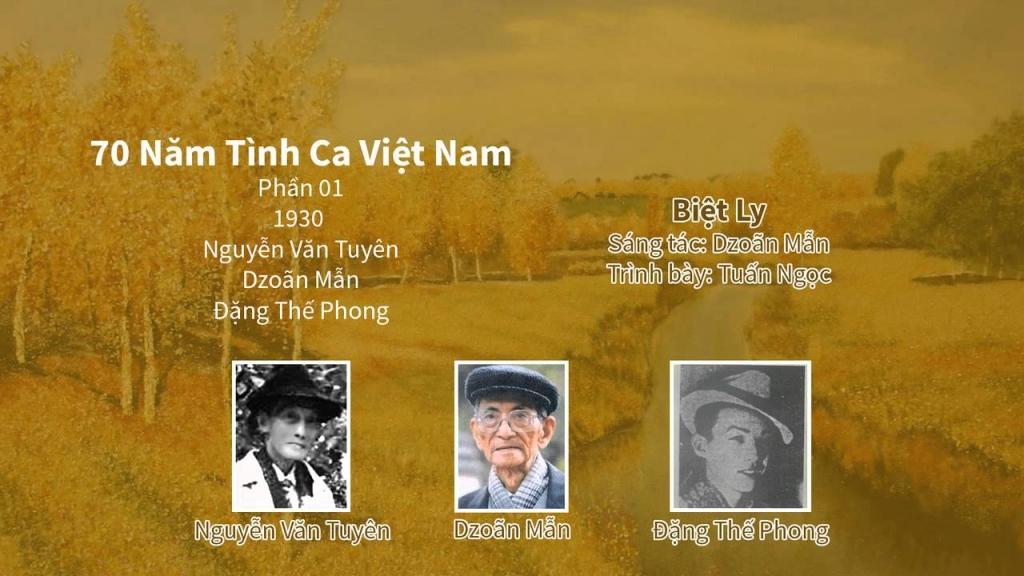 70 năm tình ca Việt Nam