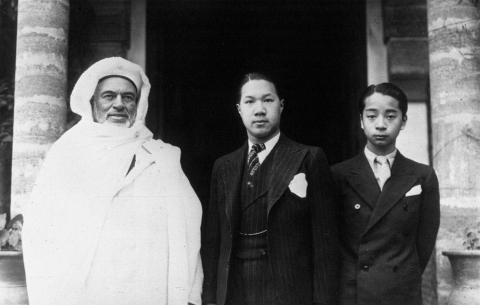 Vua Bảo Đại - Maroc 1932