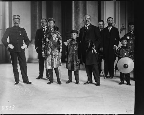 Vua Khải Định - Marseille 1922