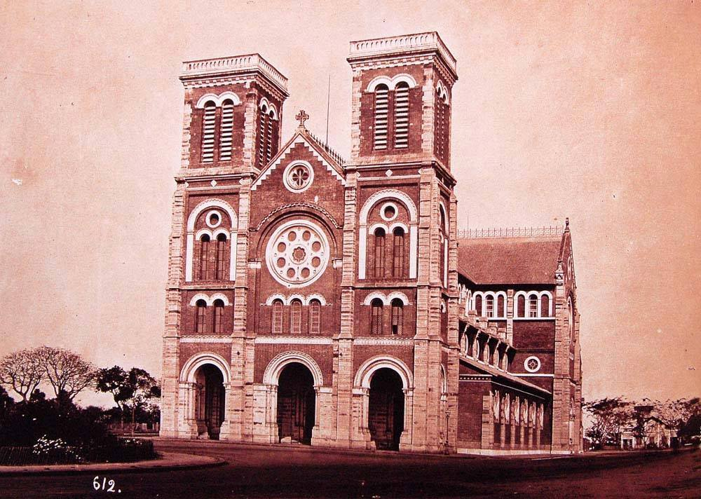 Nhà thờ Đức Bà Saigon 1882
