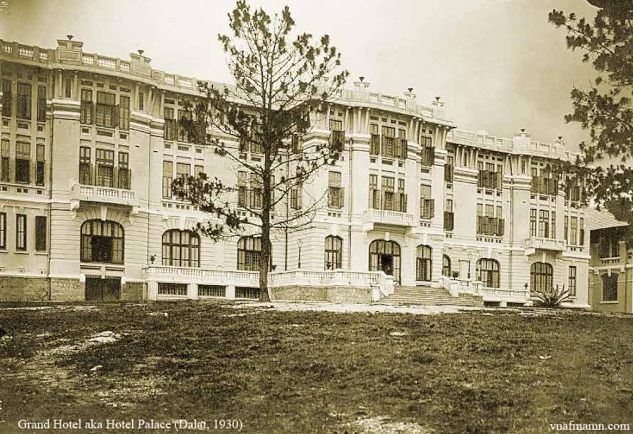Đà Lạt - Hotel Palace 1930