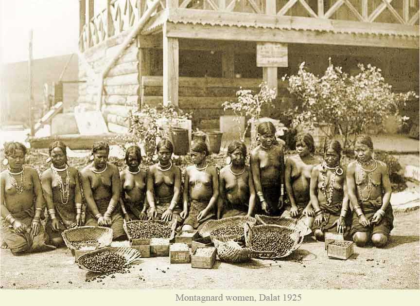 Đà Lạt - Phụ nữ bản địa 1925