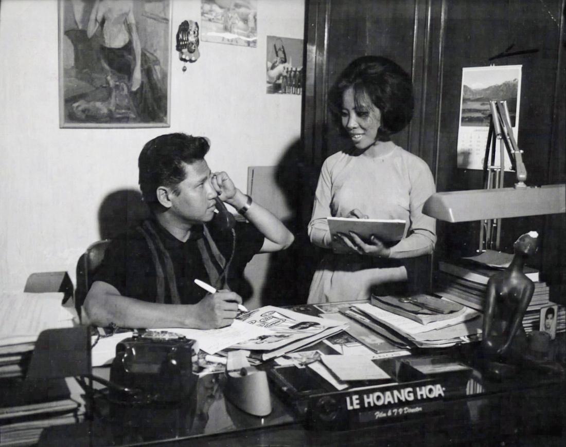 Đài truyền hình Sài Gòn trước 1975 - Đạo diễn Lê Hoàng Hoa