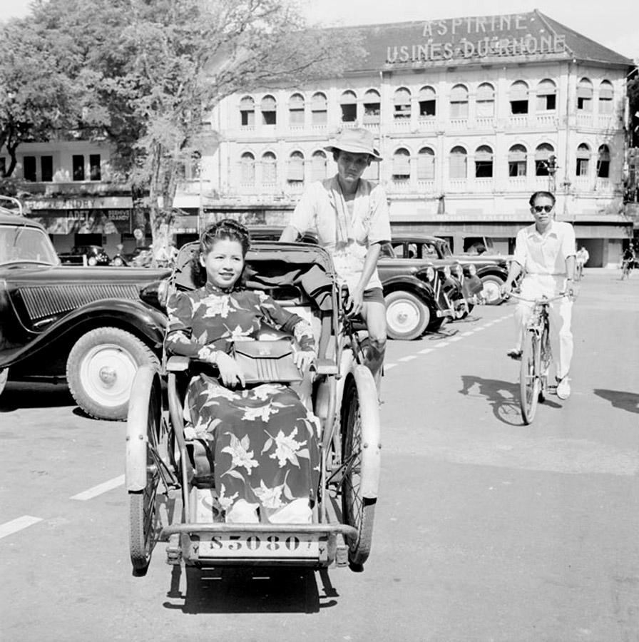 Xe đạp Sài Gòn xưa