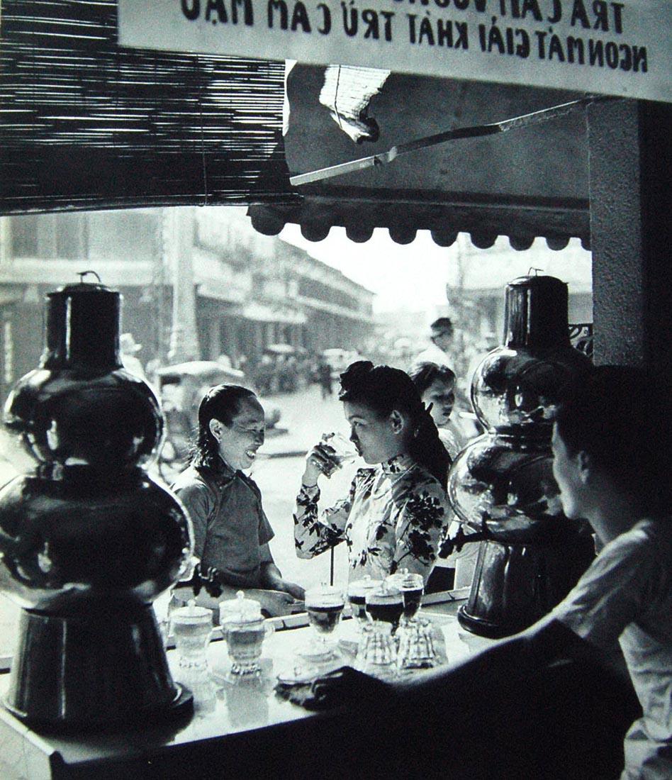 Quán hàng trà ở Chợ Lớn