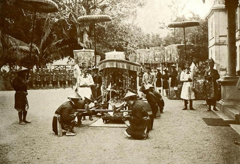 Kiệu hoàng gia triều Nguyễn