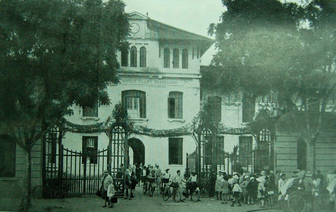 Nền giáo dục ở Tonkin - Trường Cao đẳng Tiểu học Nữ sinh Hà Nội