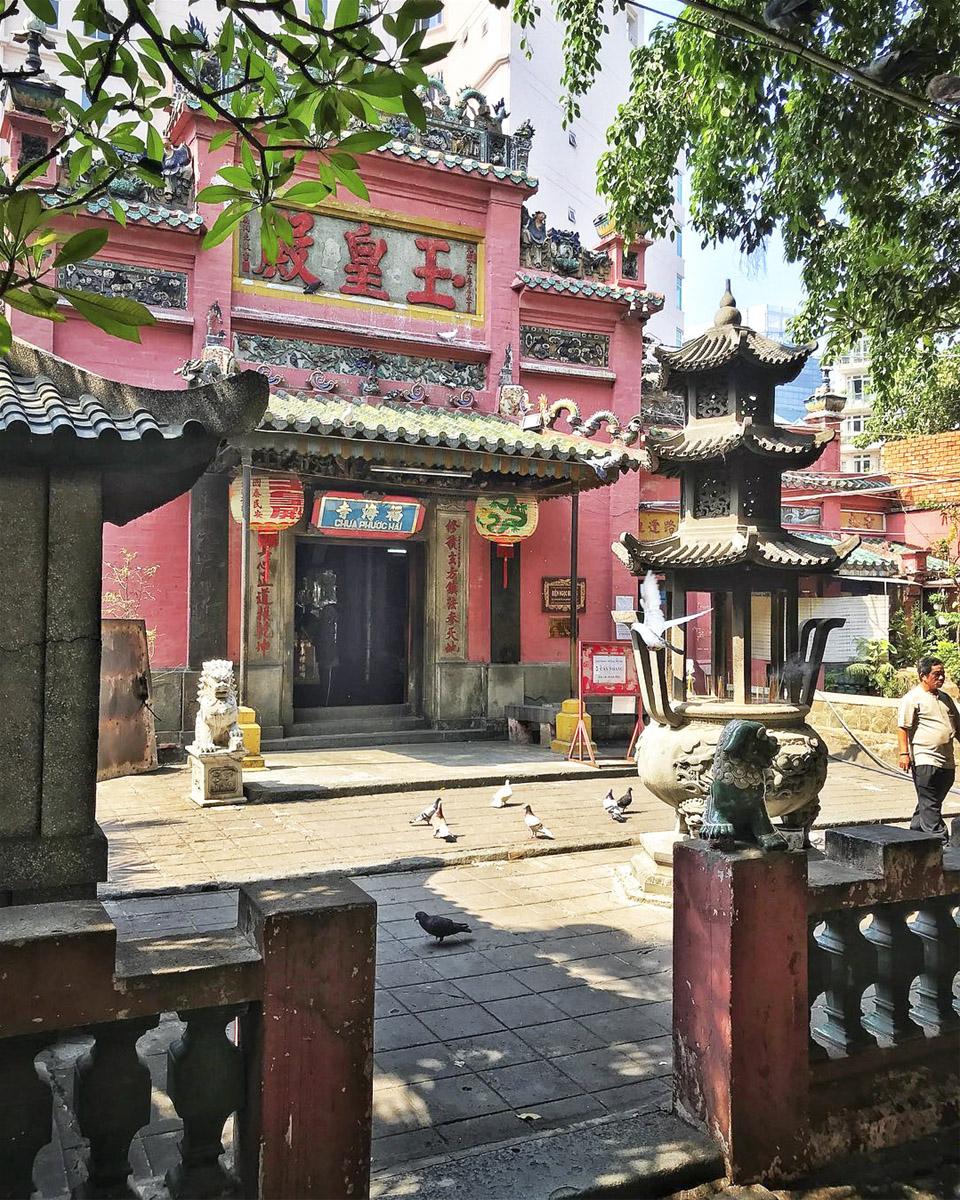 Chùa Ngọc Hoàng - Quận 1 Sài Gòn