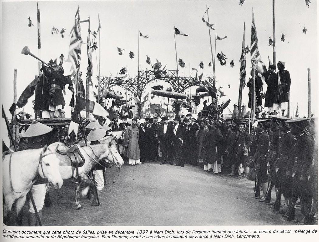 Ngày vinh danh những thí sinh đỗ đạt tại trường thi Nam Định 1897.