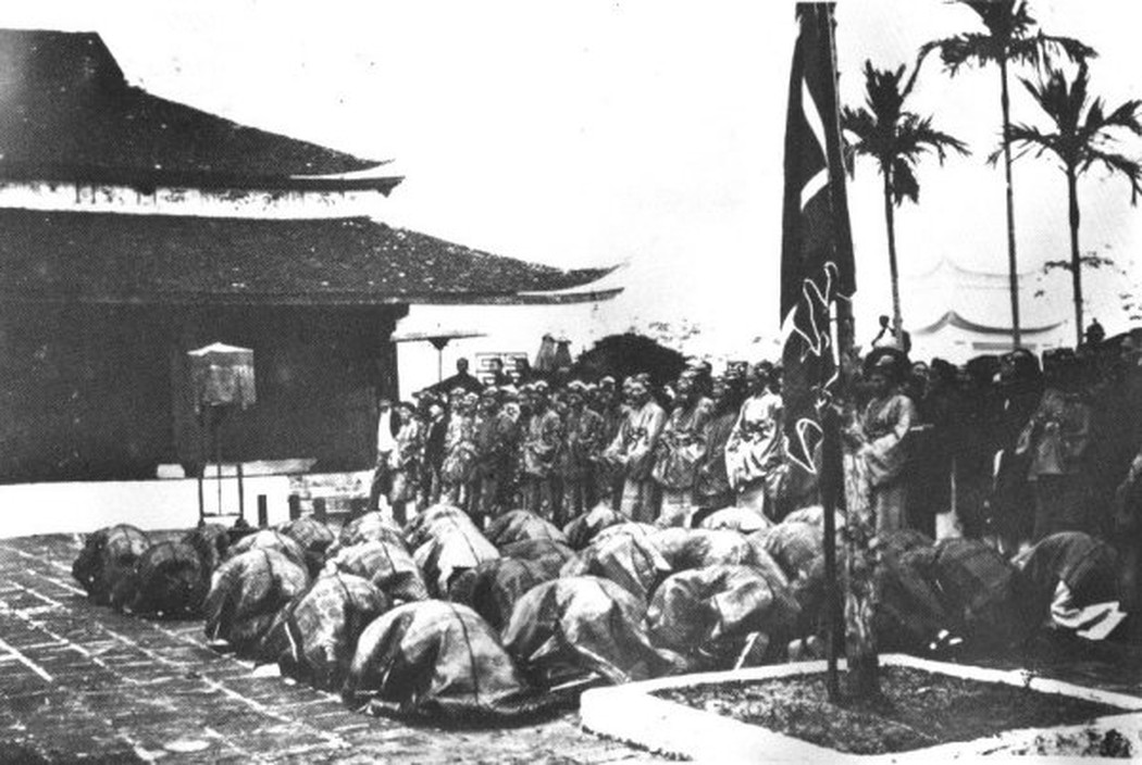 Các tân khoa đến bái tạ tại văn miếu (1897)