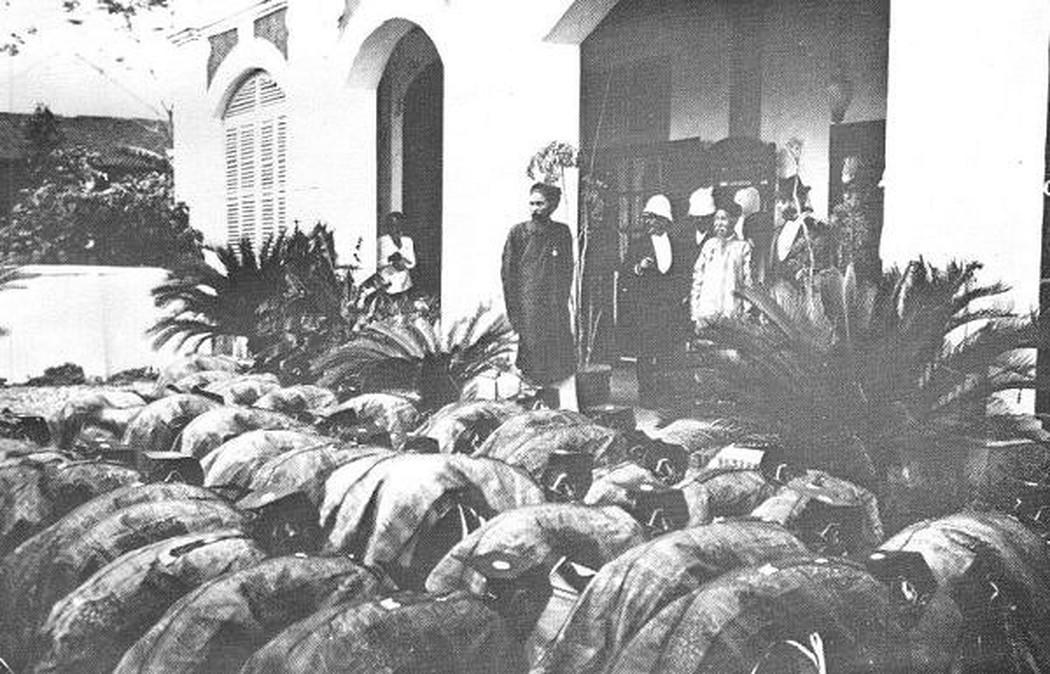 Các tân khoa bái ông Tổng đốc Nam Định (1897)