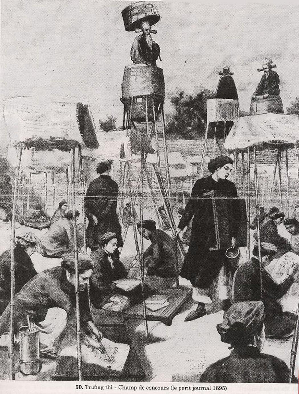Hình vẽ trường thi năm 1895