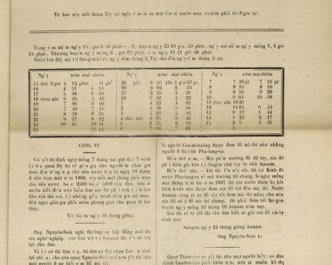 Gia Định Báo Số 3 - Tháng 3 1866