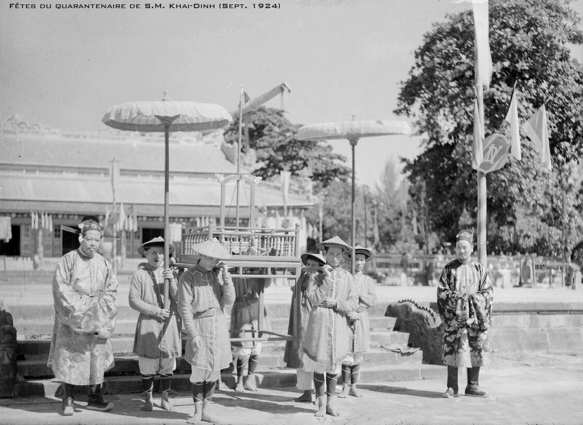 Lễ Tứ Tuần Đại Khánh của vua Khải Định 1924