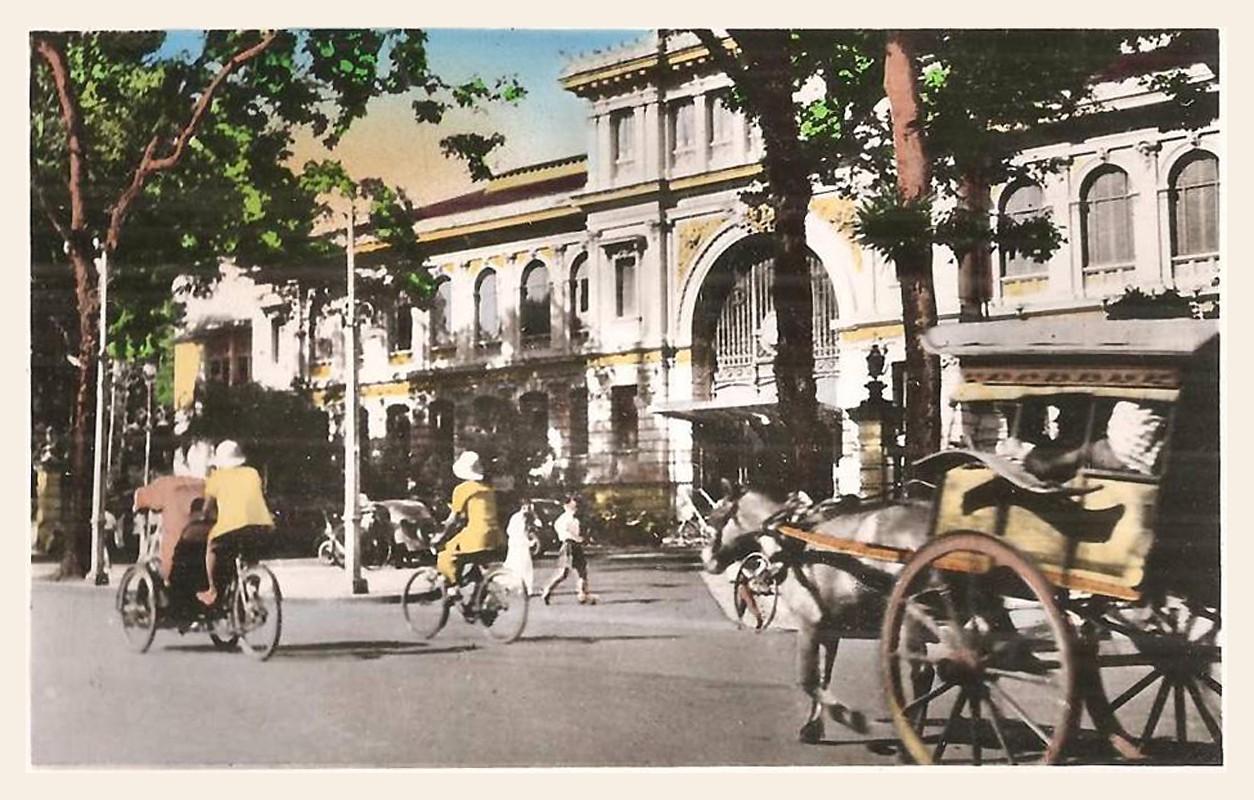 8 công trình đầu tiên của Sài Gòn xưa - Bưu điện Sài Gòn