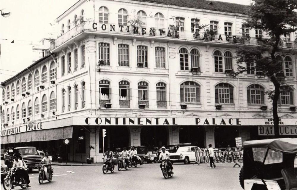 8 công trình đầu tiên của Sài Gòn xưa - Continental Palace Sài Gòn