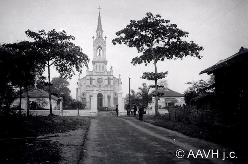 8 công trình đầu tiên của Sài Gòn xưa - Nhà thờ Chợ Quán