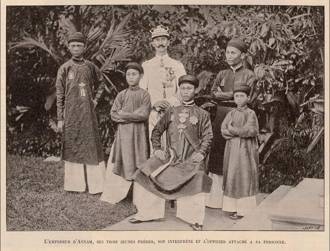 Cháu nội vua Thành Thái - Vua Thành Thái