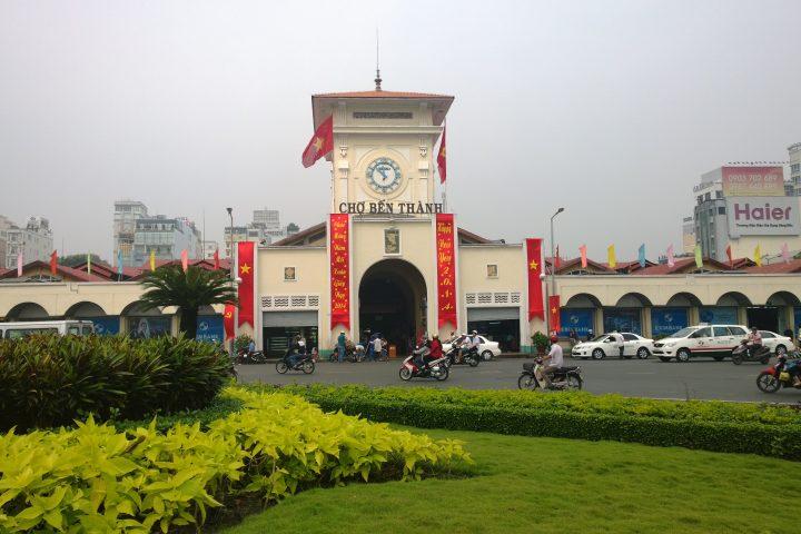 Phù điêu chợ Bến Thành