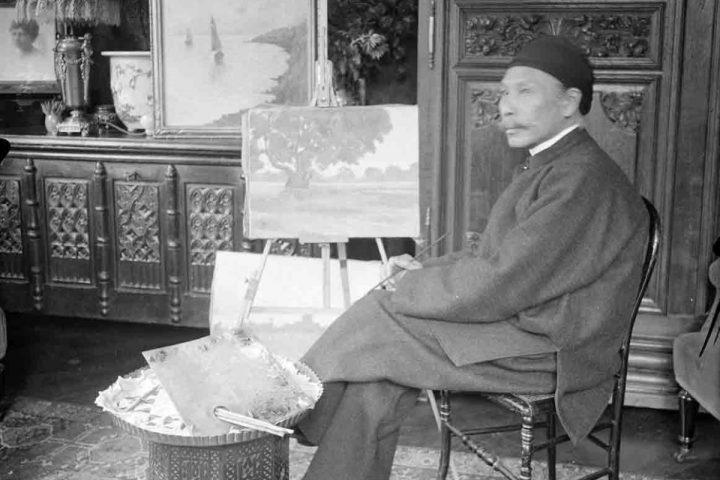 Hàm Nghi - Người nghệ sĩ tạo hình ở Alger